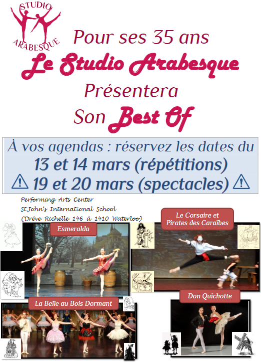 Ecole de danse Best Of 2021